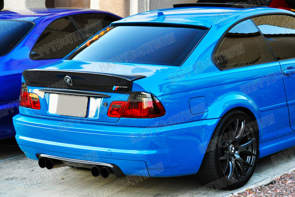 01 06 bmw e46 coupe carbon fiber csl trunk a type roof. Black Bedroom Furniture Sets. Home Design Ideas