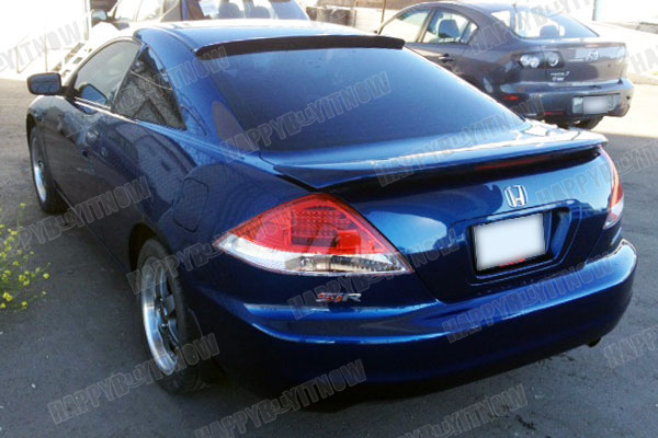 03 07 painted honda accord 7th coupe 2d rear roof spoiler for 03 honda accord coupe