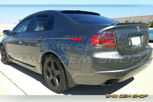 04-08 ALL COLOR PAINTED FOR ACURA TL III TRUNK BOOT SPOILER WING