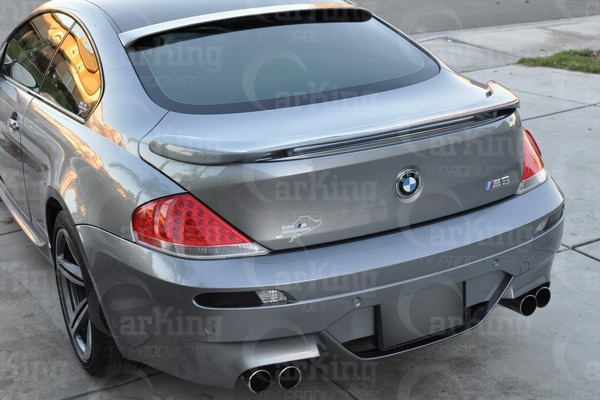 04-08 UNPAINTED BMW 6-SERIES E63 COUPE Haman TYPE TRUNK BOOT SPOILER WING Fit M6