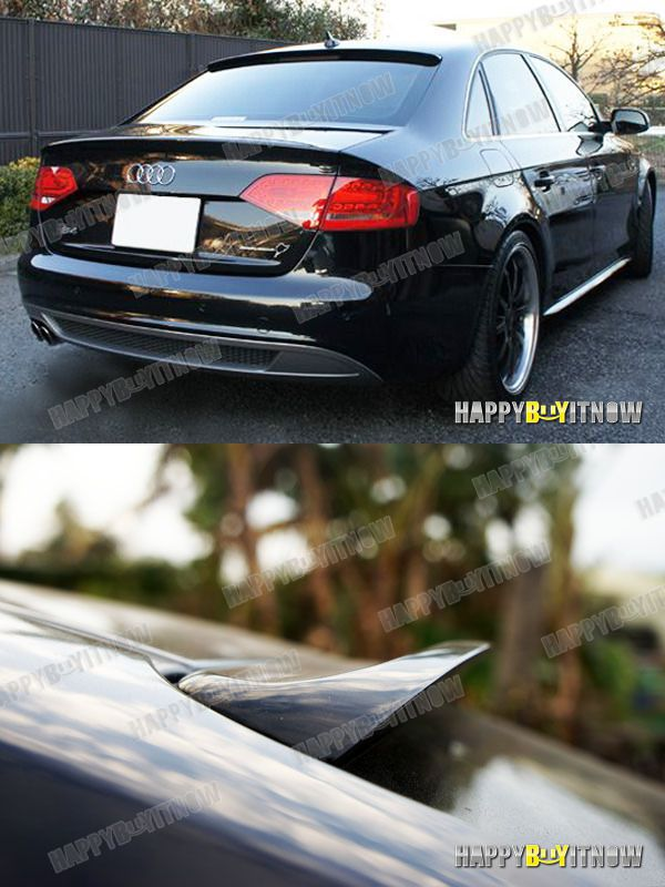 all color painted 08 14 audi a4 b8 sedan k design rear. Black Bedroom Furniture Sets. Home Design Ideas