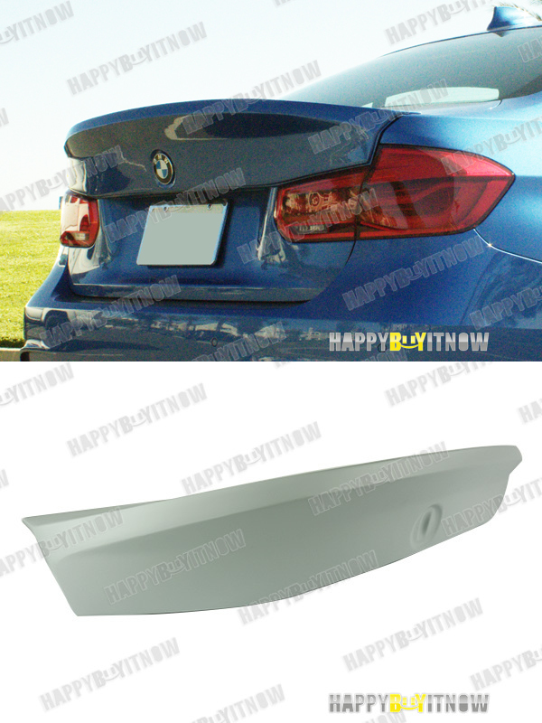 Details about UNPAINTED PRIMED BMW F30 CSL STYLE TRUNK SPOILER