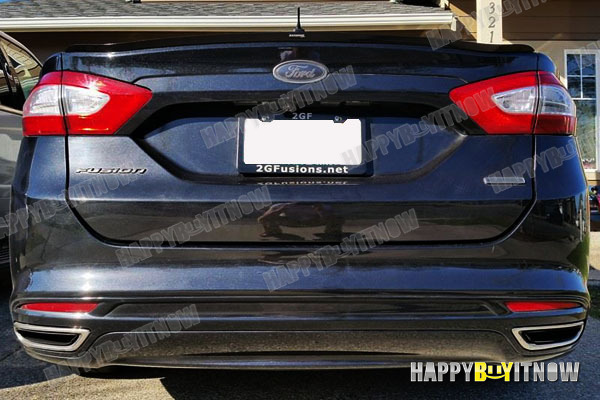 PAINTED DELICATE SK DESIGN TRUNK SPOILER for 13-17 FORD FUSION 2nd Gen SEDAN